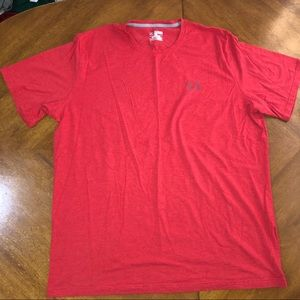 UNDER ARMOUR red and grey  tee men's 3X